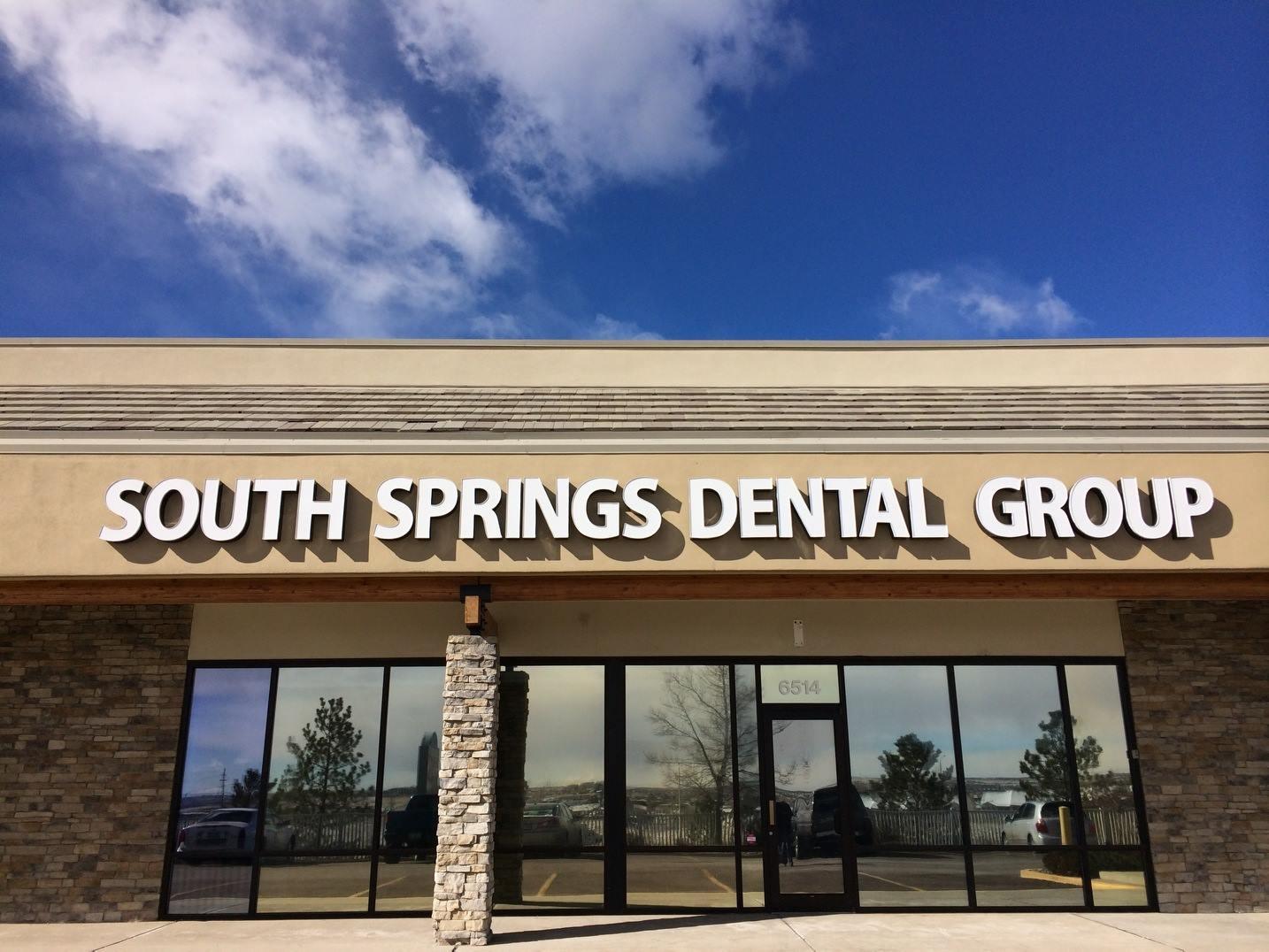 Outside of South Springs Dental Office