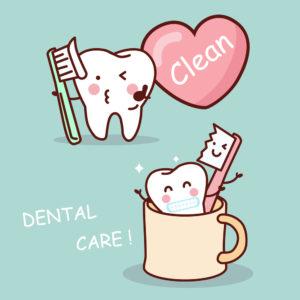 clean teeth dental care
